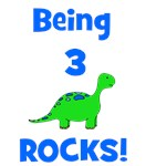 Being 3 Rocks! Dinosaur