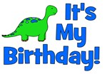 It's My Birthday! Dinosaur