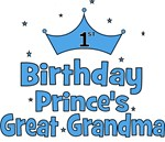 1st Birthday Prince's Great Grandma!