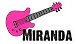 Guitar - Miranda - Pink