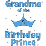 Grandma of the 5th Birthday Prince!