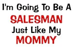 Salesman Mommy Profession