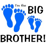 Big Brother Baby Footprints