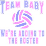 VolleyChick Team Baby