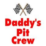 Biker Baby Pit Crew Dad