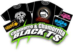 Chamorro & Chamorrita Black T's