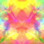 Bright Astral Abstract
