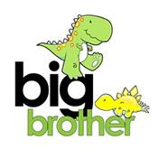 big brother t-shirt dinosaur
