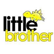 little brother t-shirt dinosaur