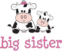 Big Sister Cow Pregnancy announcement