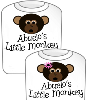Abuelo's Little Monkey T-Shirt