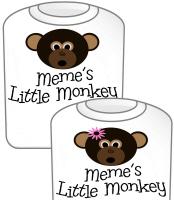 Meme's Little Monkey GIRL