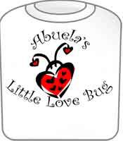 Abuela's Love Bug T-Shirt Ladybug