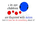 Autism T-Shirt 1 in 150