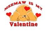 MeeMaw My Valentine T-Shirt