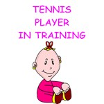 a funny tennis joke on gifts and t-shirts