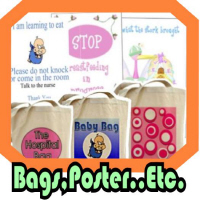 Bags, Posters..etc
