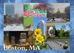 Boston, MA Photo Collage by Celeste Sheffey