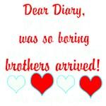 Dear Diary 2, white/red