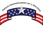 Proud Grandparent of a Soldier, Stars & Stripes©