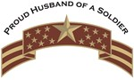 Proud Husband of a Soldier, Stars & Stripes©, Dese