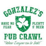 Gonzalez's Irish Pub Crawl