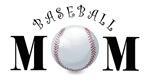 Baseball Mom (swirls)