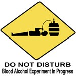 Do Not Disturb - Blood Alcohol Experiment In Progr