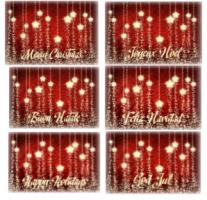 NEW! Christmas Stars Christmas Cards