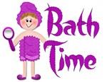 Bath Time - Girl