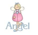 Pink & Blue Angel