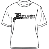 Save water drink beer!