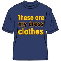 These are my dress clothes