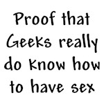 Proof of Geek Sex