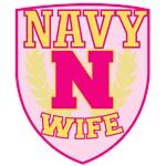 Super Navy Wife Crest
