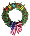 Anti-War PEACE Wreath!