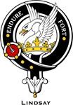 Lindsay Clan Crest Badge