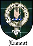 Lamont Clan Crest Tartan