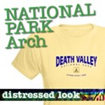 National Park T-Shirts: Distressed Arch NEW!