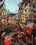 French Flags by Monet 1878