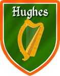 Hughes Family Irish Badge