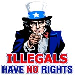 Illegals Have NO Rights