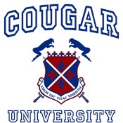 Cougar University Coat of Arms Logo