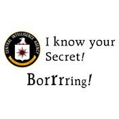 CIA: I Know Your Secret!