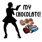 Chocolate lovers gifts, gift ideas and funny t-shirts for everyone who loves chocolates