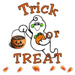 Trick or Treat Decorations and Halloween Holiday Treats