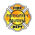 Firefighter's Girlfriend Personalized T-shirts & G