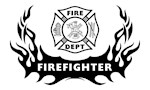 Fire Dept Tattoo Personalized Gift Ideas