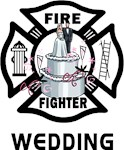 Firefighter Wedding Apparel, Gifts and Keepsakes - New From Bonfire Designs!