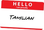 Hello I am proudly Tamilian